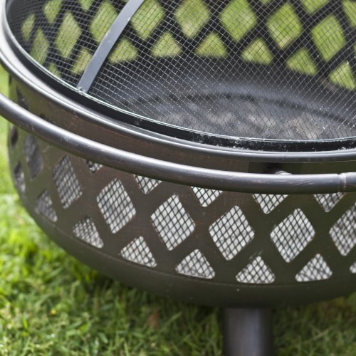 Red-Ember-Bronze-Crossweave-Firebowl-Fire-Pit-with-FREE-Grill-Grate-and-Cover-LR32-CGG-0-0
