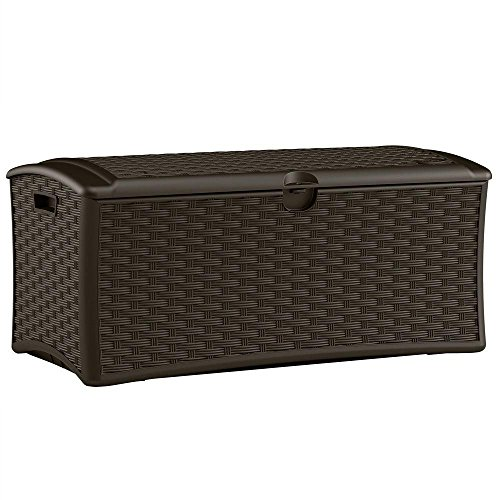 Resin-Wicker-Deck-Box-72-Gal-Constructed-with-Weather-resistant-Polypropylene-Plastic-Resin-in-Wicker-Finish-0