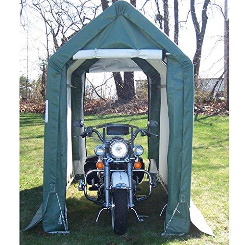 Mdm Portable Garage : Rhino shelter instant garage round style green