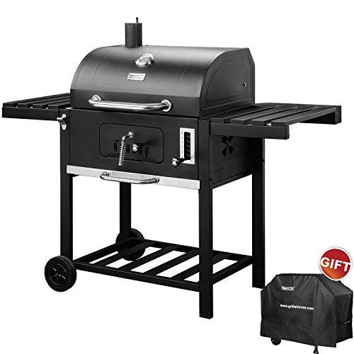 RoyalGourmet Patio Charcoal Grill 590 Square Inches Cooking