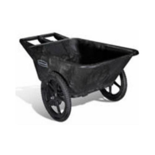 Rubbermaid-Commercial-Prod-5642-00-BLA-Big-Wheel-Garden-Cart-Pneumatic-Tires-Black-75-Cu-Ft-Holds-300-Lbs-0-0