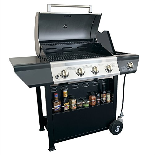 Super E Premium Quality Patio Stainless Steel Barbecue