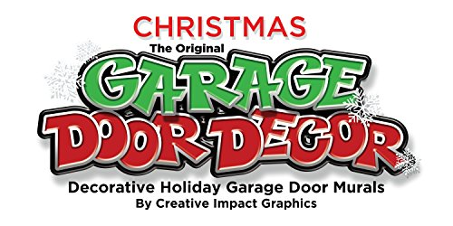 Santa S Workshop Outdoor Christmas Holiday Garage Door
