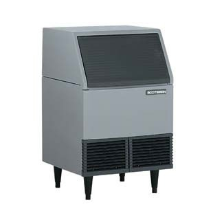 Scotsman-AFE424A-1A-Air-Cooled-395-Lb-Undercounter-Flake-Ice-Machine-0