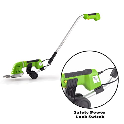Serenelife Cordless Pole Grass Cutter Shears Electric
