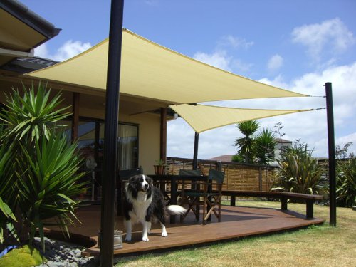 Ordinaire Shade Sail Sun Square Rectangle Patio Cover Canopy