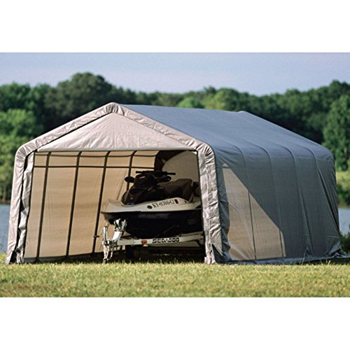 Garage Canopy Attachments : ′ round style shelter farm garden superstore