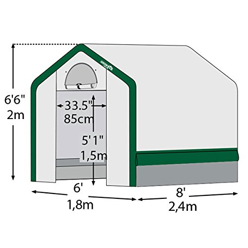ShelterLogic-Grow-It-Organic-Growers-Greenhouse-with-Mesh-Scrim-Cover-6x8x6-Feet-6-Inch-0-0