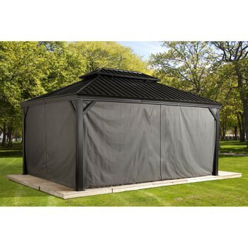 Sojag-135-6158281-Polyester-Gazebos-Curtains-for-Messina-Hard-Top-Sun-Shelter-10-x-12-Grey-0