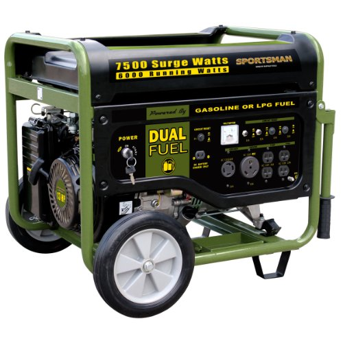 Sportsman-GEN7500DF-7500-Watt-13-HP-389cc-OVH-4-Stroke-GasPropane-Powered-Portable-Generator-With-Electric-Start-0