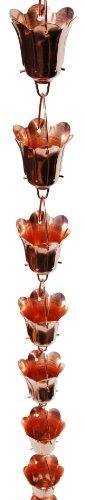 Stanwood-Rain-Chain-Tulip-Flower-Blossom-Copper-Rain-Chain-8-Feet-0