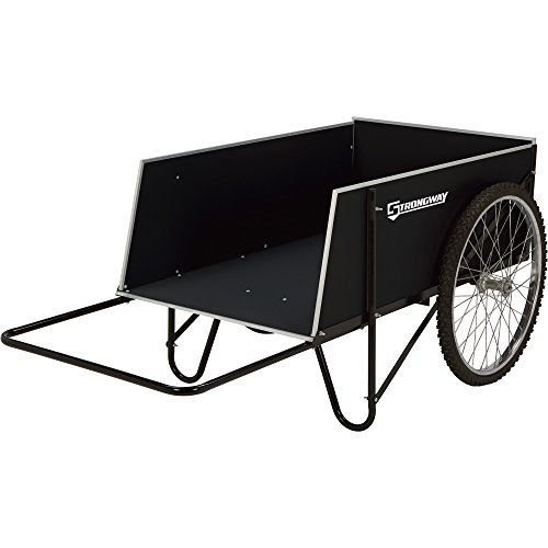 Strongway-Yard-Cart-49-14inL-x-31inW-400-lb-14-Cu-Ft-Capacity-0