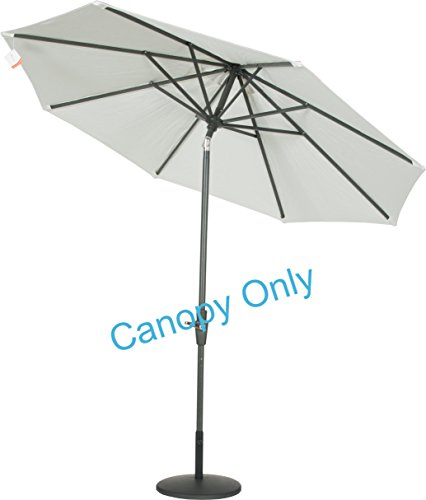 Sunbrella-Canopy-Replacement-for-9ft-8-Ribs-Patio-Umbrella-Natural-Canopy-Only-0-0