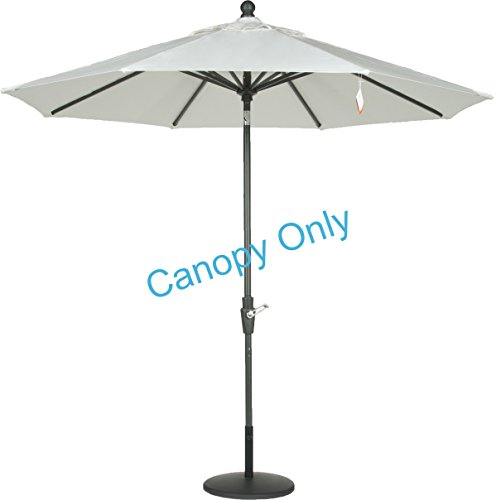 Sunbrella-Canopy-Replacement-for-9ft-8-Ribs-Patio-Umbrella-Natural-Canopy-Only-0