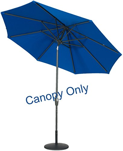 Sunbrella-Canopy-Replacement-for-9ft-8-Ribs-Patio-Umbrella-Pacific-Blue-Canopy-Only-0-0
