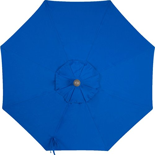 Sunbrella-Canopy-Replacement-for-9ft-8-Ribs-Patio-Umbrella-Pacific-Blue-Canopy-Only-0-1