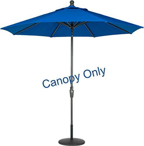 Sunbrella-Canopy-Replacement-for-9ft-8-Ribs-Patio-Umbrella-Pacific-Blue-Canopy-Only-0