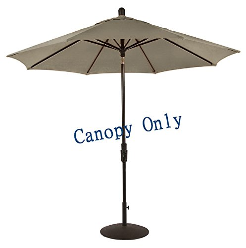 Sunbrella-Canopy-Replacement-for-9ft-8-Ribs-Patio-Umbrella-Taupe-Canopy-Only-0