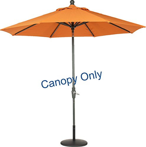 20 Patio Umbrella Replacement Canopy 8 Ribs Pebble