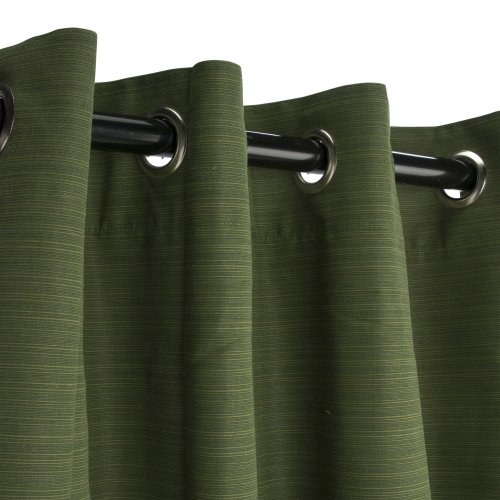 Sunbrella-Outdoor-Curtain-with-Nickel-Grommets-Dupione-Palm-0-0