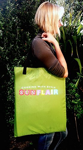 Sunflair-Portable-Solar-Oven-Deluxe-with-Complete-Cookware-Dehydrating-Racks-and-Thermometer-0-0