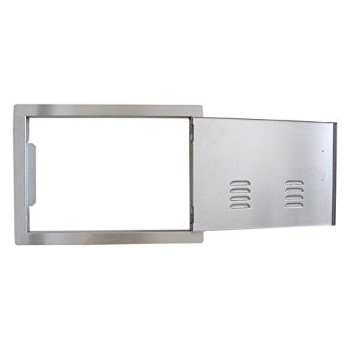 Sunstone-Grills-Classic-Series-Flush-Single-Access-Horizontal-Door-with-Vents-0-0