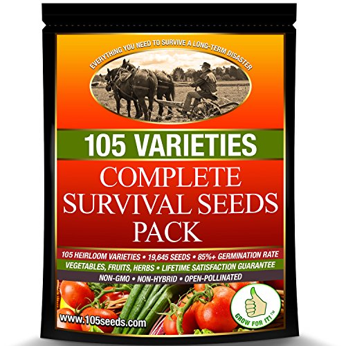 Survival-Seed-Vault-Best-for-Fruit-Herb-and-Vegetable-Storage-Bank-105-Variety-Non-GMO-Non-Hybrid-Heirloom-Seeds-in-30-Cal-Ammo-Box-High-Germination-Success-Emergency-Gardens-Doomsday-Supplies-0-1