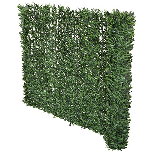 Synturfmats Artificial Hedge Slats Panels For Chain Link