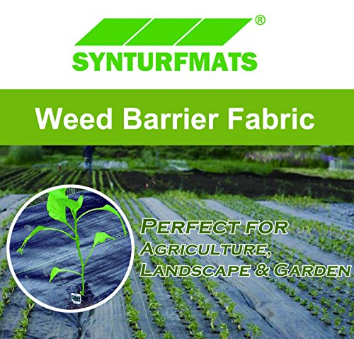 Synturfmats-Weed-Control-Fabric-Heavy-Duty-Weed-Barrier- - Synturfmats Weed Control Fabric – Heavy Duty Weed Barrier Landscape