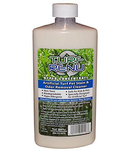 TURF-RENU-Tr10116-Hyper-Concentrate-Bio-Enzymatic-Cleaning-Solution-for-SyntheticArtificial-Turf-and-Pet-Odor-Control-16-Ounce-0