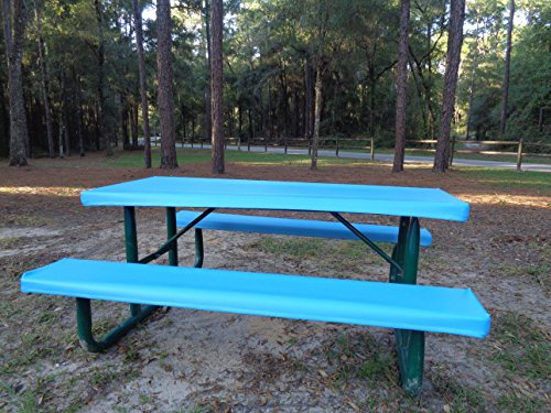 Table Glove Fitted Marine Grade Vinyl Fitted Picnic Table Cloth Or - Outdoor picnic table covers