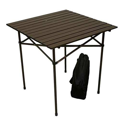 table in a bag tall aluminum portable table with carrying bag farm garden superstore. Black Bedroom Furniture Sets. Home Design Ideas