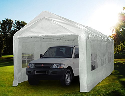 Timed-Scare-Buying-Quictent-20X10-Heavy-Duty-PE-Water-Resistant-Party-Wedding-Tent-carport-Canopy-0