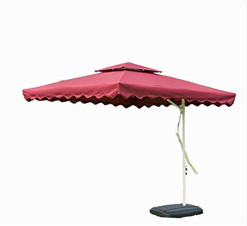 Tylor S Garden 7 1 2 Ft Cantilever Outdoor Patio Umbrella With Cross