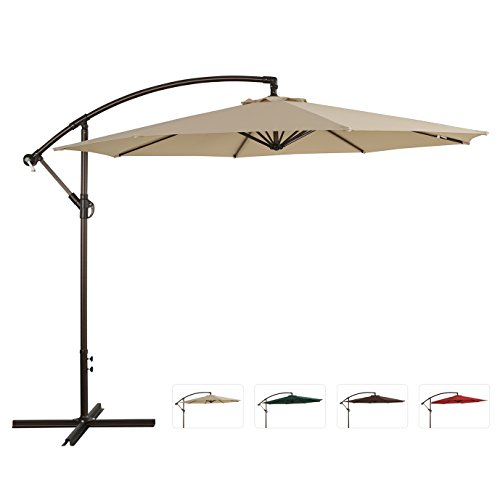 Ulaxfurniture-10-Ft-Offset-Hanging-Umbrella-0