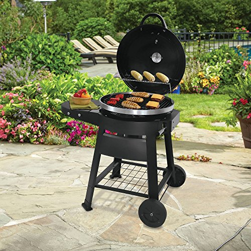 Uniflame Patio Outdoor Cooking Charcoal Grill Farm
