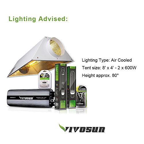 VIVOSUN-Horticulture-96x48x80-Mylar-Hydroponic-Grow-Tent-with-Obeservation-Window-and-Floor-Tray-for-Indoor-Plant-Growing-4×8-0-0