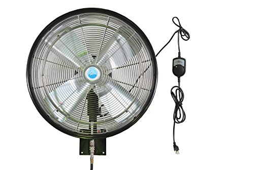 Misting Fans System : Misting fan system inch outdoor rated fans