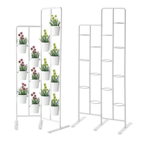 Vertical-Metal-Plant-Stand-13-Tiers-Display-Plants-Indoor-or-Outdoors-on-a-Balcony-Patio-Garden-or-Use-as-a-Room-Divider-or-Vertical-Garden-Inside-Your-Home-Also-Great-for-Urban-Gardening-0