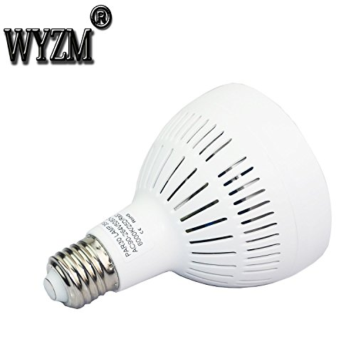 Wyzm 35watt Swimming Pool Led Light Bulb 6000k Daylight White E26 Screw Base 500w Traditional