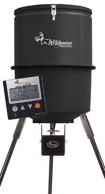 Wgi-InnovationsBa-Products-W225D-Tri-Pod-Digital-Feeder-225-Lb-Poly-Barrel-30-Gals-0