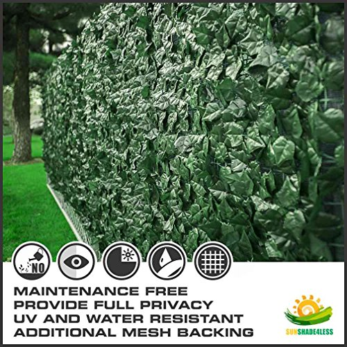 Windscreen4less-Artificial-Faux-Ivy-Leaf-Hedge-Panel-Patio-balcony-Privacy-Fence-Screen-Decoration-Panels-0-0