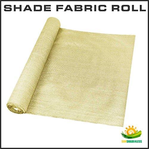 Windscreen4less-Shade-Fabric-Roll-95-Uv-Block-6x50-Beige-Tan-0-0