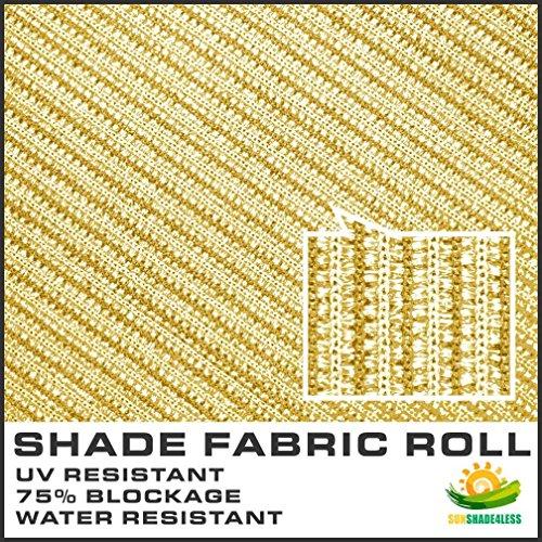 Windscreen4less-Shade-Fabric-Roll-95-Uv-Block-6x50-Beige-Tan-0-1