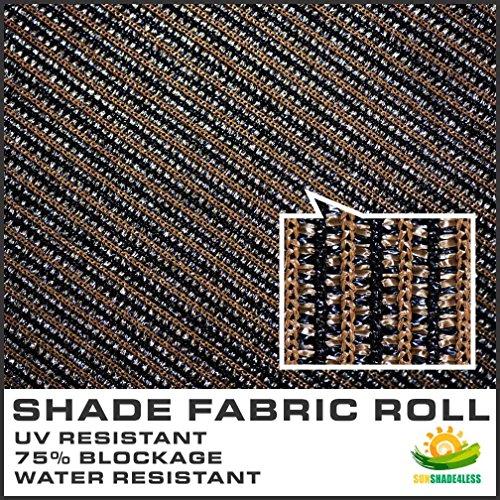 Windscreen4less Brown Sunblock Shade Cloth 95 Uv Block
