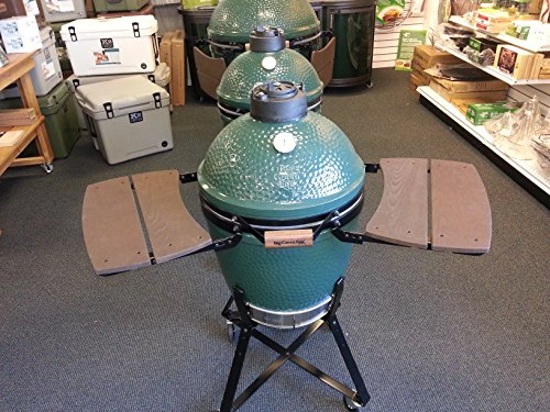 Wooden-Shelves-EGG-Mate-for-Medium-Big-Green-Egg-EGG-2-shelves-Official-Big-Green-Egg-Grill-Smoker-Accessories-Are-A-Must-For-Big-Green-Egg-Users-0