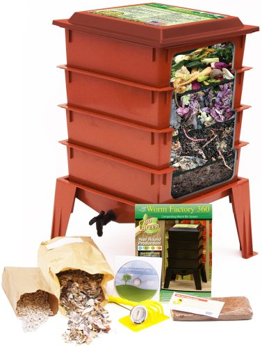 Worm-Factory-360-Composting-Bin-Terracotta-With-1000-Live-Composting-Worms-By-Worms-Etc-0