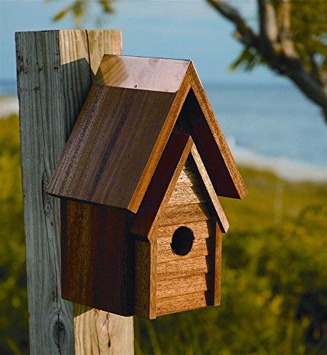 Wrental-House-Bird-House-in-Mahogany-0