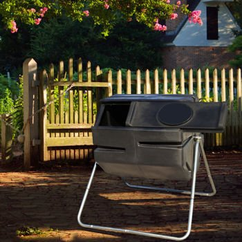 YIMBY-6-Cubic-Feet-Durable-UV-Resistant-Recycled-Plastic-with-Galvanized-Steel-Frame-Tumbling-Composter-RM4000-0