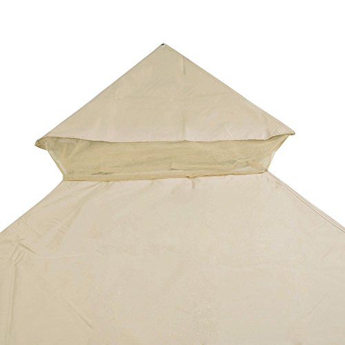 Yescom-10x10ft-2-Tier-Waterproof-Gazebo-Canopy-Replacement-Beige-Outdoor-Garden-Yard-Patio-Top-Cover-0-1